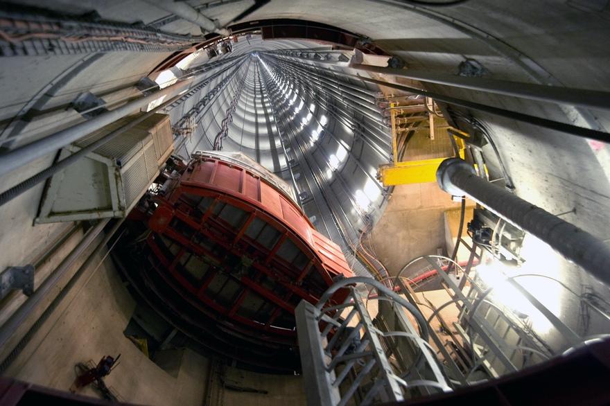 visual of an undergroud laboratory in meusehaute