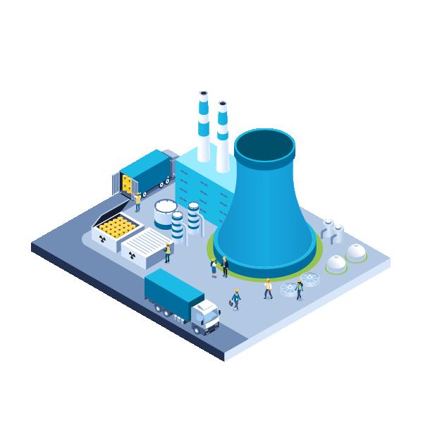 nuclear illustration